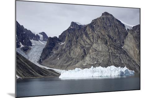 Greenland, Bjoren Oer, Receding Glacier-Aliscia Young-Mounted Photographic Print