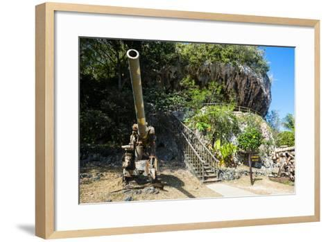 Last Japanese Command Post from Ww Ii, Saipan, Northern Marianas, Central Pacific-Michael Runkel-Framed Art Print