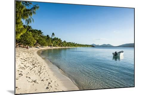 White Sand Beach, Oarsman Bay, Yasawa, Fiji, South Pacific-Michael Runkel-Mounted Photographic Print