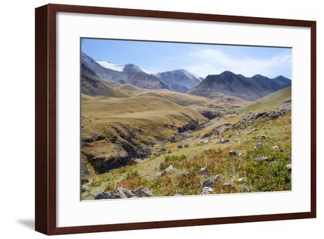 Mongolia, Bayan Logia Province, Gashuun Suhayt. River Valley-Emily Wilson-Framed Art Print