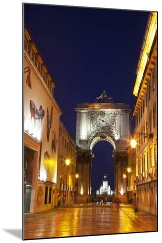 Lisbon, Rua Augusta-Terry Eggers-Mounted Photographic Print