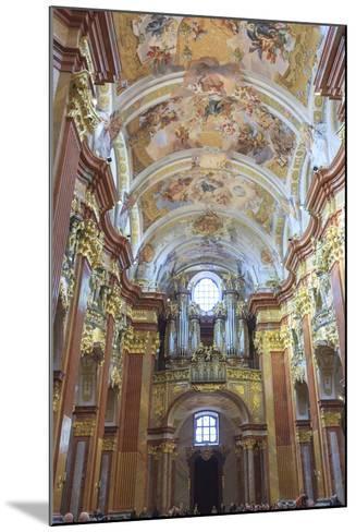 Organ. Church of the Abbey. Melk Abbey. Melk. Austria-Tom Norring-Mounted Photographic Print