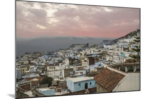 Morocco, Chaouen. Range of the Rif Mountains in the Background-Emily Wilson-Mounted Photographic Print