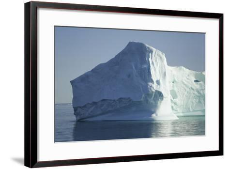 Greenland, Scoresby Sund, Large Floating Iceberg-Aliscia Young-Framed Art Print