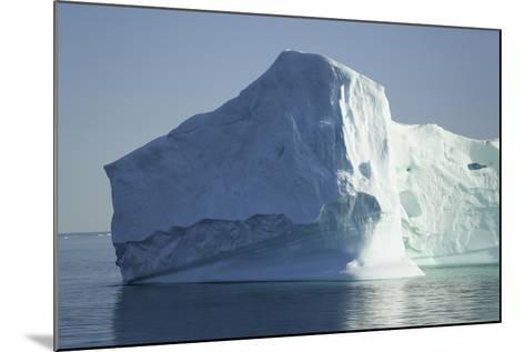 Greenland, Scoresby Sund, Large Floating Iceberg-Aliscia Young-Mounted Photographic Print