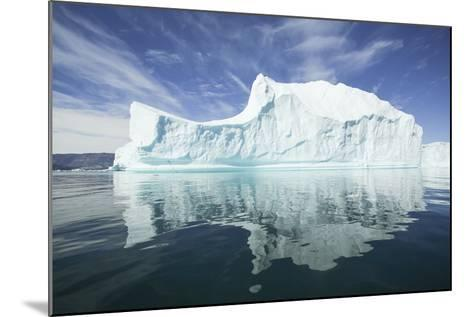 Greenland, Scoresby Sund, Red Island, Large Iceberg in a Small Ripple of Water-Aliscia Young-Mounted Photographic Print