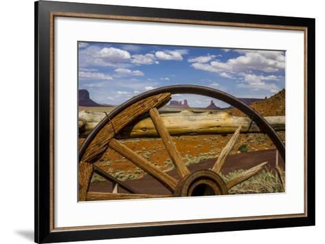 Monument Valley Tribal Park of the Navajo Nation, Arizona-Jerry Ginsberg-Framed Art Print