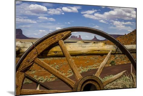 Monument Valley Tribal Park of the Navajo Nation, Arizona-Jerry Ginsberg-Mounted Photographic Print