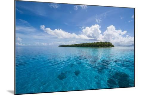Little Islet in the Ant Atoll, Pohnpei, Micronesia-Michael Runkel-Mounted Photographic Print