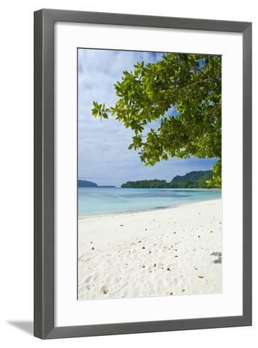 Island of Espiritu Santo, Vanuatu, South Pacific-Michael Runkel-Framed Art Print