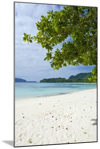 Island of Espiritu Santo, Vanuatu, South Pacific-Michael Runkel-Mounted Photographic Print