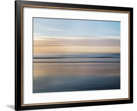 USA, California, La Jolla, Abstract of Incoming Waves-Ann Collins-Framed Art Print