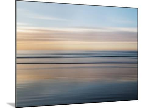 USA, California, La Jolla, Abstract of Incoming Waves-Ann Collins-Mounted Photographic Print