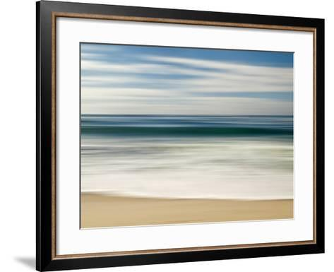 USA, California, La Jolla, Abstract Image of Blurred Wave at Marine St. Beach-Ann Collins-Framed Art Print