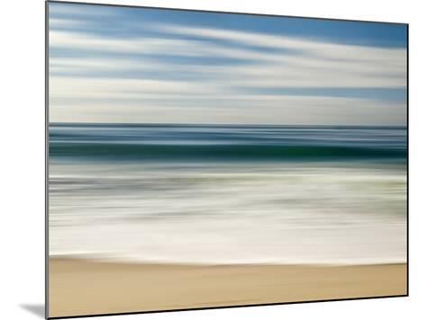 USA, California, La Jolla, Abstract Image of Blurred Wave at Marine St. Beach-Ann Collins-Mounted Photographic Print