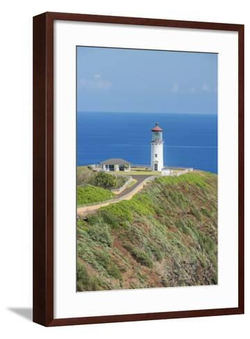 Hawaii, Kauai, Kilauea Lighthouse-Rob Tilley-Framed Art Print
