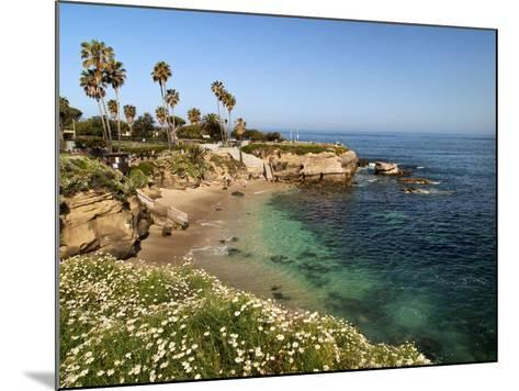 USA, California, La Jolla, Clear Water on a Spring Day at La Jolla Cove-Ann Collins-Mounted Photographic Print