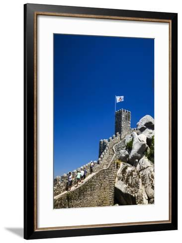 Portugal, Sintra, Castelo Dos Mouros and Quinta Da Regaleira-Terry Eggers-Framed Art Print