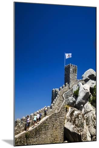 Portugal, Sintra, Castelo Dos Mouros and Quinta Da Regaleira-Terry Eggers-Mounted Photographic Print
