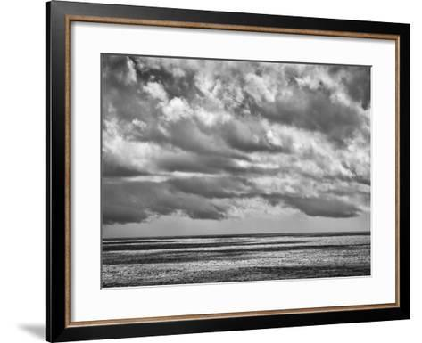 USA, California, Big Sur Clouds over Pacific from Rocky Point-Ann Collins-Framed Art Print