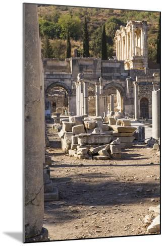 Turkey, Izmir, KUSAdasi. the Ruins of Ephesus-Emily Wilson-Mounted Photographic Print