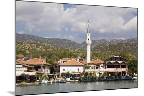 Turkey, Kas, Kekova Is a Small Turkish Island Near Demre District of Antalya Province-Emily Wilson-Mounted Photographic Print
