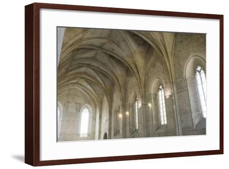 Southern France, Vaucluse, Provence, Avignon, Views in and around the Papal Palace-Emily Wilson-Framed Art Print