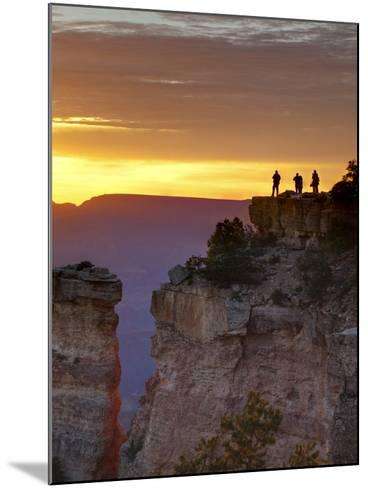 USA, Arizona, Grand Canyon National Park, Sunrise at Yaki Point-Ann Collins-Mounted Photographic Print