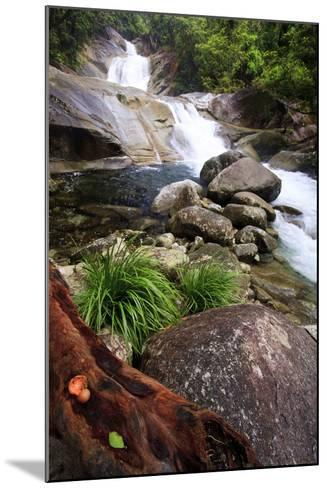 Josephine Falls Is One of the Most Popular Sets of Waterfalls on the South Side of Cairns-Paul Dymond-Mounted Photographic Print