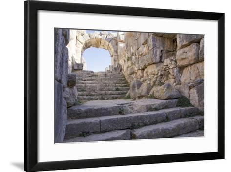 Turkey, the Ruins of Miletus, a Major Ionian Center of Trade and Learning in the Ancient World-Emily Wilson-Framed Art Print