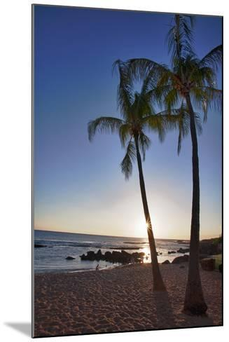 USA, Kauai, Evening Light on the Westside of Kauai-Terry Eggers-Mounted Photographic Print