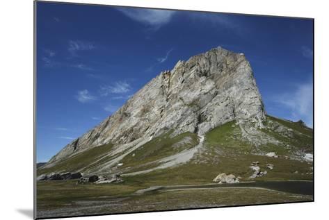 Svalbard, Hornsund, Sor-Spitsbergen National Park, Gnalodden. View of Gnalberget Mountain-Aliscia Young-Mounted Photographic Print