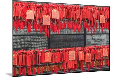Prayer Tags, Foshan Ancestral Temple, Foshan, Near Guangzhou China-Stuart Westmorland-Mounted Photographic Print