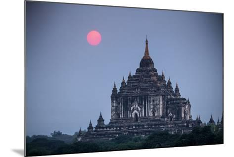 Myanmar, Bagan. Sunset on Thatbyinnyu Temple-Jaynes Gallery-Mounted Photographic Print