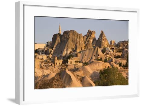 Turkey, Cappadocia Is a Historical Region in Central Anatolia-Emily Wilson-Framed Art Print