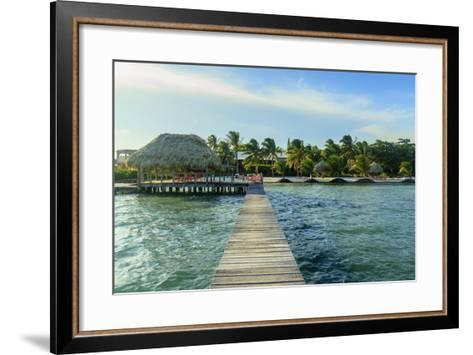 Saint Georges Caye Resort, Belize, Central America-Stuart Westmorland-Framed Art Print