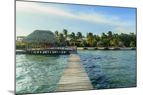 Saint Georges Caye Resort, Belize, Central America-Stuart Westmorland-Mounted Photographic Print