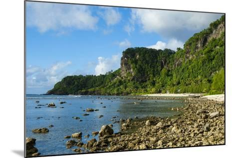 Pretty Bay and Turquoise Water in Tau Island, Manuas, American Samoa, South Pacific-Michael Runkel-Mounted Photographic Print