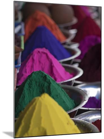 Holi Powder Paint for Sale in Mysore, Karnataka, India-David H^ Wells-Mounted Photographic Print
