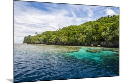 Rock Islands, Palau, Central Pacific-Michael Runkel-Mounted Photographic Print
