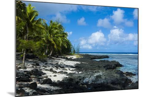 Rocky Beach in Tau Island, Manuas, American Samoa, South Pacific-Michael Runkel-Mounted Photographic Print