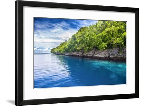 Rock Islands, Palau, Central Pacific-Michael Runkel-Framed Art Print
