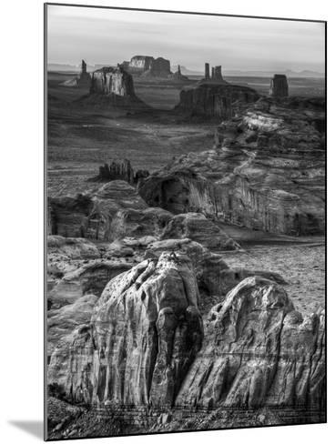 USA, Arizona, Monument Valley. Sunset View from Hunt's Mesa-Ann Collins-Mounted Photographic Print