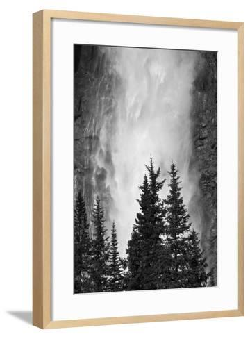 Takakkaw Falls, Yoho National Park, British Columbia, Canada-Michel Hersen-Framed Art Print