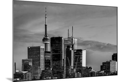Toronto Skyline at Dusk-Brad Smith-Mounted Photographic Print