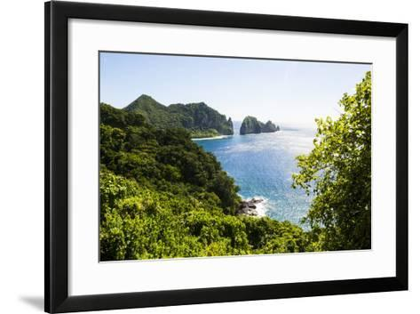 National Park of American Samoa, Tutuila Island, American Samoa, South Pacific-Michael Runkel-Framed Art Print