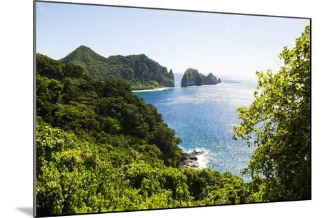 National Park of American Samoa, Tutuila Island, American Samoa, South Pacific-Michael Runkel-Mounted Photographic Print