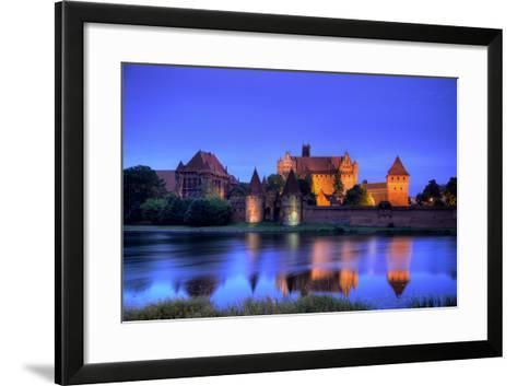 Europe, Poland, Malbork. Medieval Malbork Castle-Jaynes Gallery-Framed Art Print