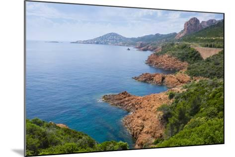 France, the Cote D'Azur, Is the Mediterranean Coastline of the Se Corner of France-Emily Wilson-Mounted Photographic Print