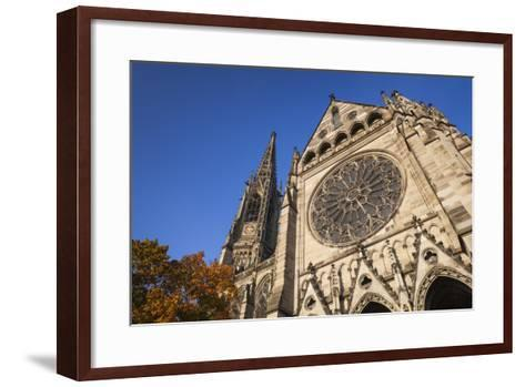 Germany, Rhineland-Pfalz, Speyer, Exterior of the Memorial Church-Walter Bibikow-Framed Art Print